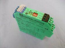Conmutador Amplificador Pepperl & Fuchs kfa6-sr2-ex2. W Unidad Usada