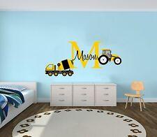 Builder  Custom Name Wall Decal Boy/Girl Room -Mural Wall Decal For Kids Bedroom