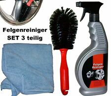 Felgenreiniger 650ml Felgenbürste Poliertuch für Felge Autolack Aufbereiter usw.