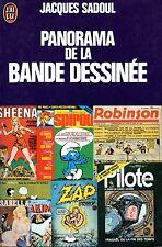 JACQUES SADOUL / PANORAMA DE LA BANDE DESSINEE / POCHE