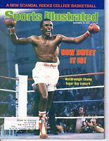 1979 12/10 Sports Illustrated Boxing magazine, Sugar Ray Leonard ~ Welterweight