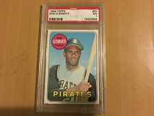 1969 Topps #50 Bob Roberto Clemente  Pittsburgh Pirates PSA 7  NM