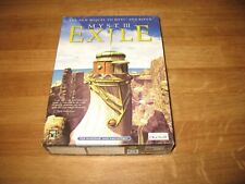 PC game - Myst III 3 Exile CD-ROM