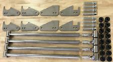 Parallel 4 Link Kit 125 Bars 14 Steel Brackets Universal Witho Panhard Bar