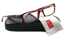 RAY BAN Eyeglasses RB 5224 Spotted Havana Brown 5003 Authentic 53mm New
