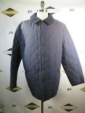 E9348 VTG BARBOUR CLASSIC ESKDALE Snap Quilted Jacket Size XL