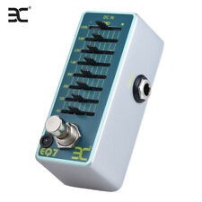 ENO EX EQ7 Guitar Equalizer Effect Pedal 7-Band EQ Full Metal Shell True G7X8