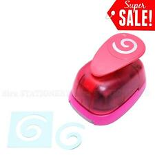 "1.5""inch Spiral Shape Paper Craft Punch Craft Supplies Puncher Scrapbooking Card"
