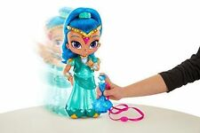 """Fisher-price Shimmer & Shine Wish & Spin Shine Doll 12"""" New"""