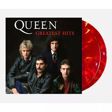 Queen - Greatest Hits Exclusive Limited Edition Ruby Blend Colored 2x Vinyl LP