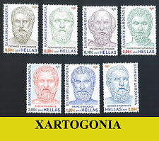 GREECE 2017, THE 7 WISE GREEK MEN WISE OF ANTIQUITY , MNH