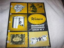 1970's Wiseco Snowmobile Accessories Catalog No.5