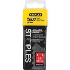 """(40)-Stanley 3/8"""" Leg 1/2"""" Wide Heavy-Duty Wide Crown Staple (1000-Pack) TRC606T"""