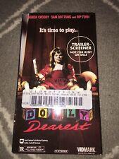 Dolly dearest VHS Screening Copy