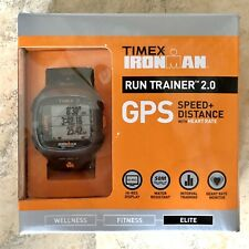 Timex Ironman Run Trainer GPS Watch Speed+Distance With Heartrate | T5K742
