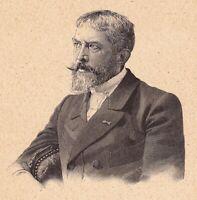 Portrait Jacques Clément Wagrez Peintre Peinture