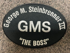 George M. Steinbrenner- OFFICIAL LEFT CHEST Patch New York Yankees