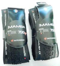 2 PNEUS CYCLO CROSS SOUPLES HUTCHINSON BLACK MAMBA 700 X 34 NEUFS