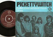 Pickettywitch triste viejos tiempos de película un poco' & Noruega danés 45+PS 1970 Polly Browne