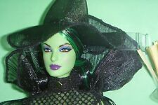 Glamour Wicked Witch Barbie Collector Doll Wizard of Oz Glamour New in SHIPPER