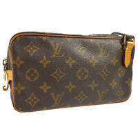 LOUIS VUITTON MARLY BANDOULIERE SHOULDER BAG MONOGRAM M51828 SL0945 A48061