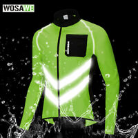 Men Jerseys Cycling Winter Waterproof Men's Coat Reflective Jackets MTB Bicycle