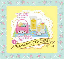 Re-ment Sanrio Miniature My Melody Floral Party Set rement No.01 RARE NOW