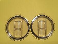 *Sale*2-Splash Spill Proof Resistant Lids For Yeti 10oz/20oz Rambler Cup Lids