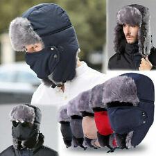 Trapper Hat Russian Ushanka Sherpa Cossack Fur Ski Showerproof  Winter Warm Hat