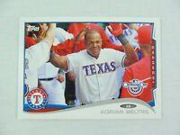 Adrian Beltre Texas Rangers 2014 Topps Baseball Card 6