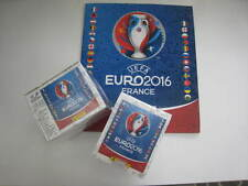 Euro Frankreich 2016 Panini 100 Packungen leeren Album komplett 500 Aufkleber
