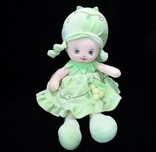 "De.Car Morbidelli Green Grape Doll Plush Soft Toy Stuffed 14"" Italy"