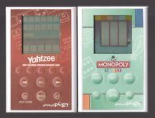 Yahtzee & Monopoly Slots ~ Pocket Pogo Handheld Electronic Games ~ Travel Lot