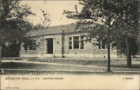 Richmond Hill Staten Island NY Carnegie Library c1905 TUCK Postcard