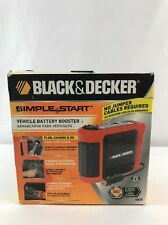 Black & Decker Simple Start Vehicle Battery Booster BB7B New In Box