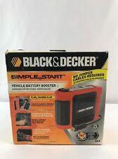 Black & Decker Simple Start Vehicle Battery Booster BB7B New In Box