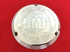 ULTRA CHOPPER UMC 70-98 HARLEY AMF BILLET 3-HOLE EVO DERBY COVER SHOVELHEAD FXR