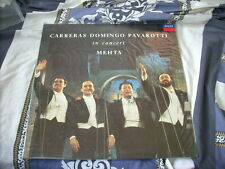 a941981 Sealed England Decca Korea Lp Carreras Domingo Pavarotti in Concert Mehta Classics ONE LP ONLY Luciano Pavarotti