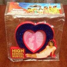 DISNEY HIGH SCHOOL MUSICAL MOVIE HEART PHOTO PICTURE FRAME MAGNET GABRIELLA NEW