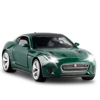1/32 Jaguar F-type Coupe Model Car Diecast Toy Vehicle Collection Gift Kid Green