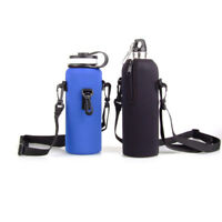 Protable Sports Hanging Water Bottle Cover Camping Hiking Cycling Kettle Carrier