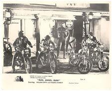 RUN ANGEL RUN ORIGINAL LOBBY CARD WILLIAM SMITH MOTORCYCLE GANG 1970 CULT CLASSI