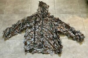 Red Head Camouflage RealTree Xtra Hunting Jacket Hoodie w/ 3D Leaves XS   Youth?