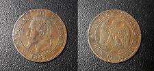 Napoléon III - Tête laurée - 2 centimes 1862 A, Paris