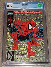 1990 Marvel Comics Spider-man 1 CGC 8.5 Platinum Edition Variant Todd Mcfarlane