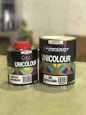 Concept paints 2k Satin Clear Kit 1.5lt