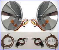 1937-1939 Ford Cars Headlight Conversion Kit 12 Volt 1938 Turn Signal