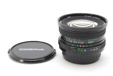 NEAR MINT Cosina 20mm f/3.8 MF Lens MC Wide Angle for Pentax K Mount from Japan