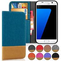 Cartera Funda para Samsung Galaxy S7 Galaxy S7 Edge Cuero Sintético Billetera