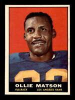1961 Topps #50 Ollie Matson  EXMT+ X1549229